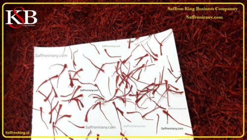 Cost of saffron
