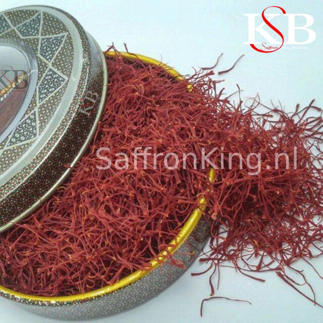 De prijs van pure saffraan