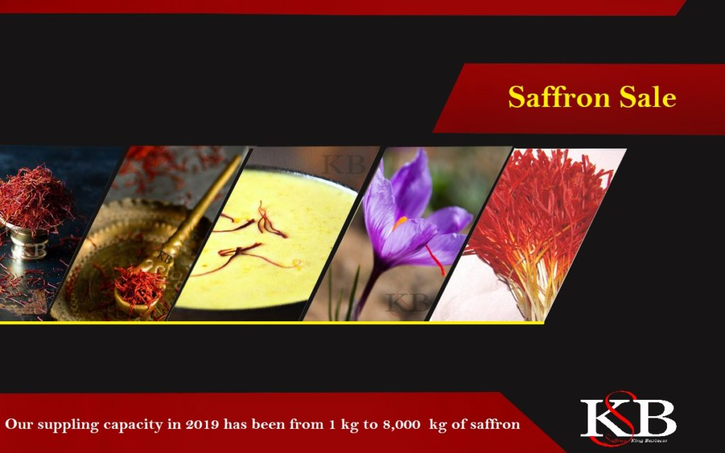 What is the price per kilo of saffron?