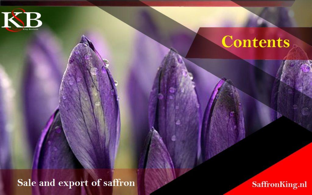 Major sales of export saffron