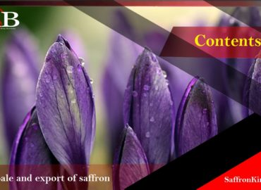 Major sales of export saffron