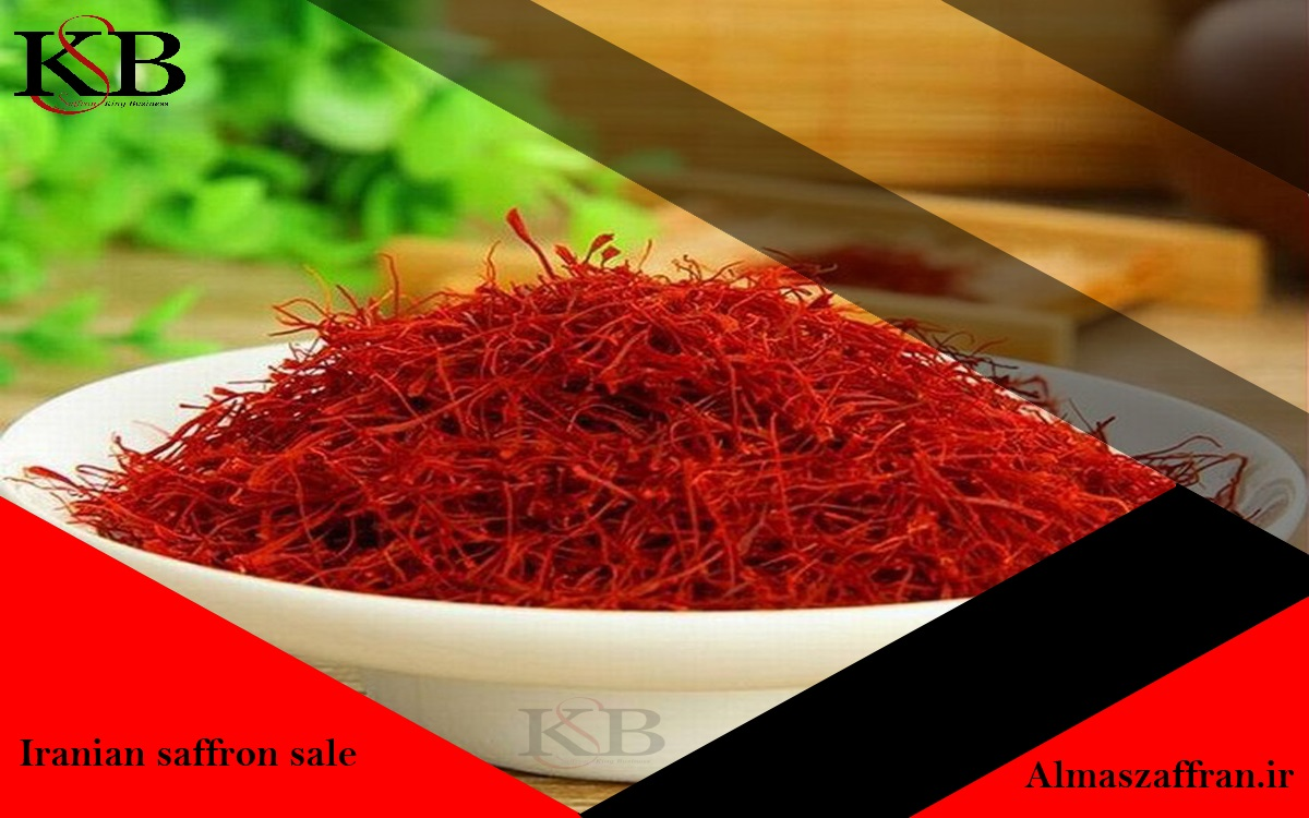 Sale market of saffron