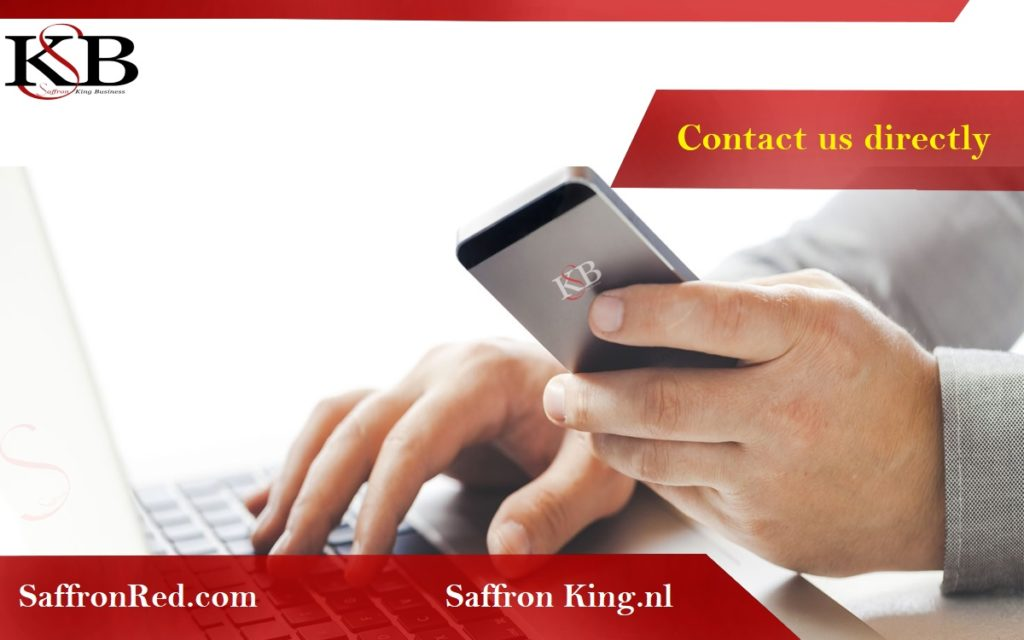 Contact with Saffron King Business Company . Sale and export of saffron