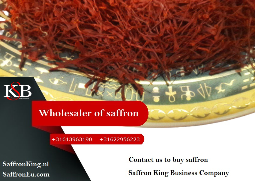 Sale of saffron in Europe