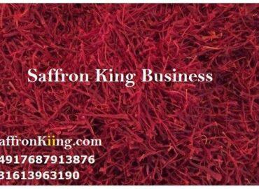 Verkoop van saffraan voor de prijs van saffraanveld