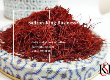 Het beste merk saffraan van Europa, Export van saffraan naar Europa