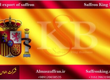 Export van saffraan naar Spanje