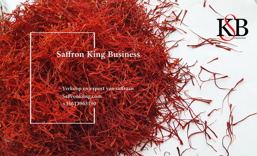 Wat is de verkoopprijs van saffraan?