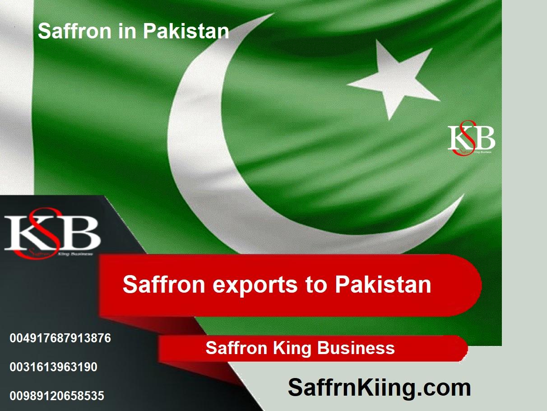 Saffraan export naar Pakistan en saffraan prijzen