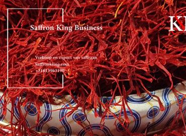 Export van saffraan naar Nederland