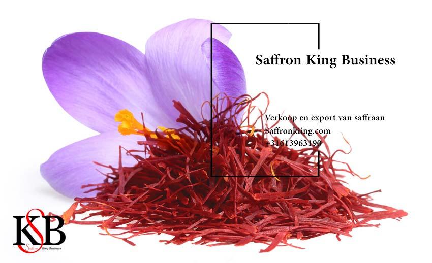 De grootste exporteur van saffraan