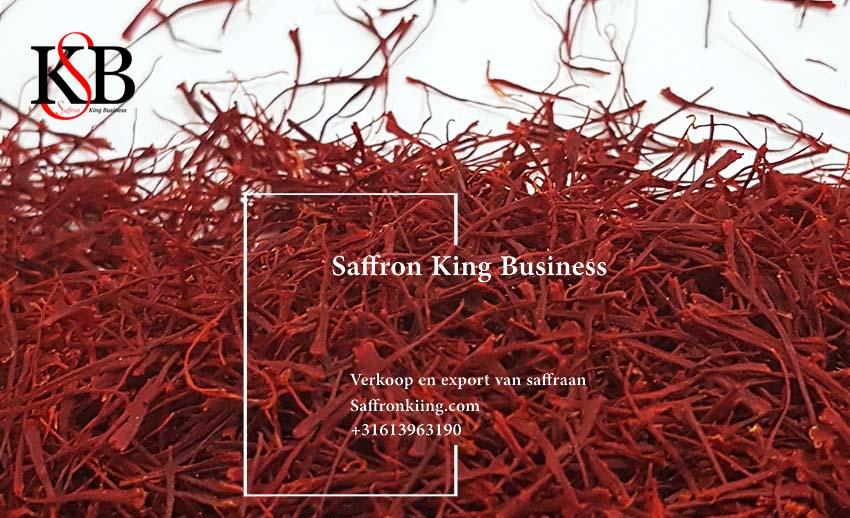 Saffraan in Nederland en saffraan export