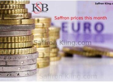 Prijzen van saffraan in Zwitserland en export van saffraan