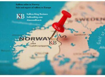 Export van saffraan naar Noorwegen