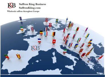 Exporteer saffraan naar de hele wereld