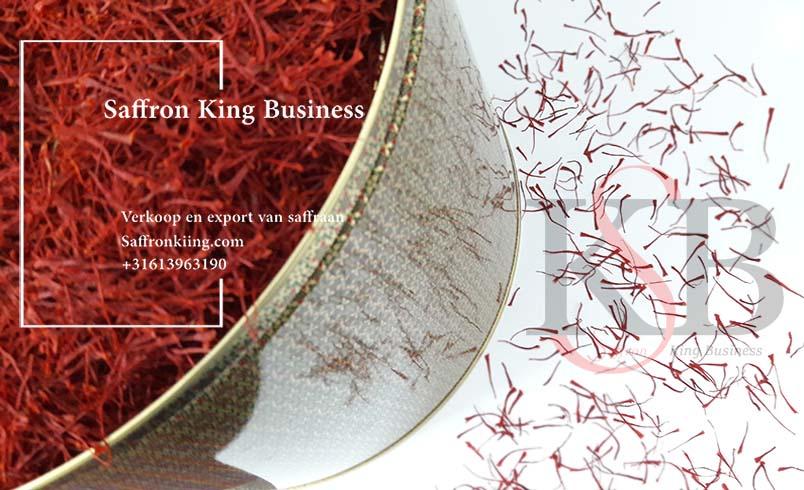 Online aankoop van saffraan van het merk Saffron King