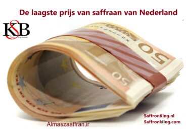 De laagste prijs van saffraan van Nederland