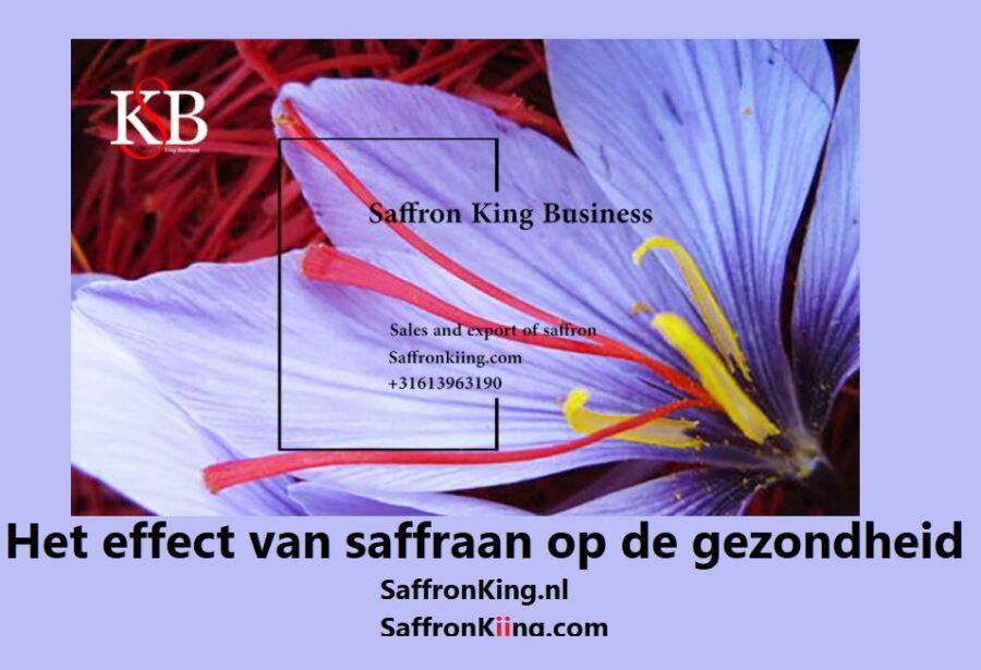 Het effect van saffraan op de gezondheid