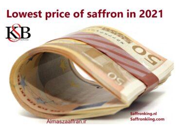 Lowest price of saffron in 2021