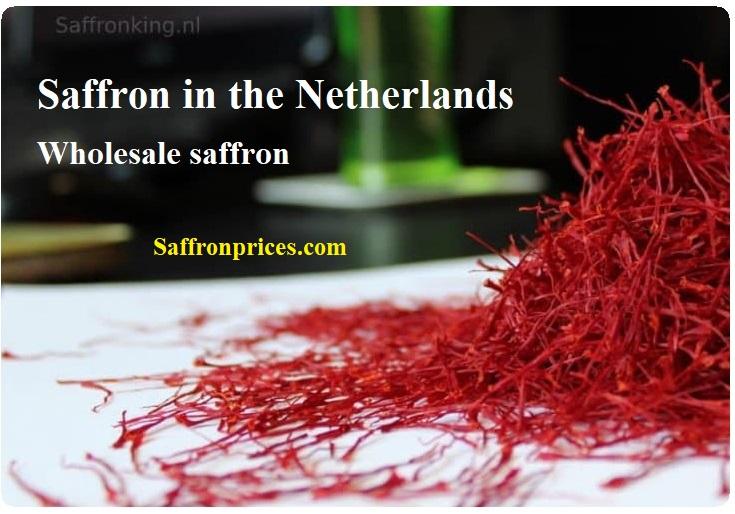 Verkoop van saffraan op de Europese
