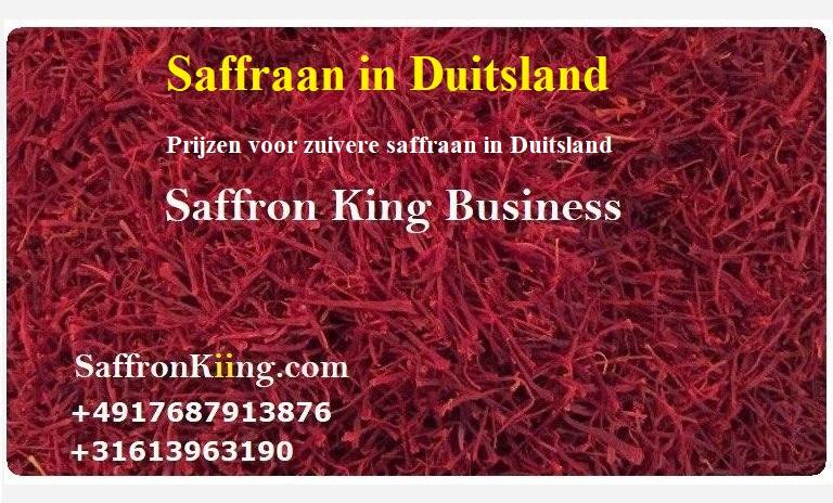 Prijzen voor zuivere saffraan in Duitsland