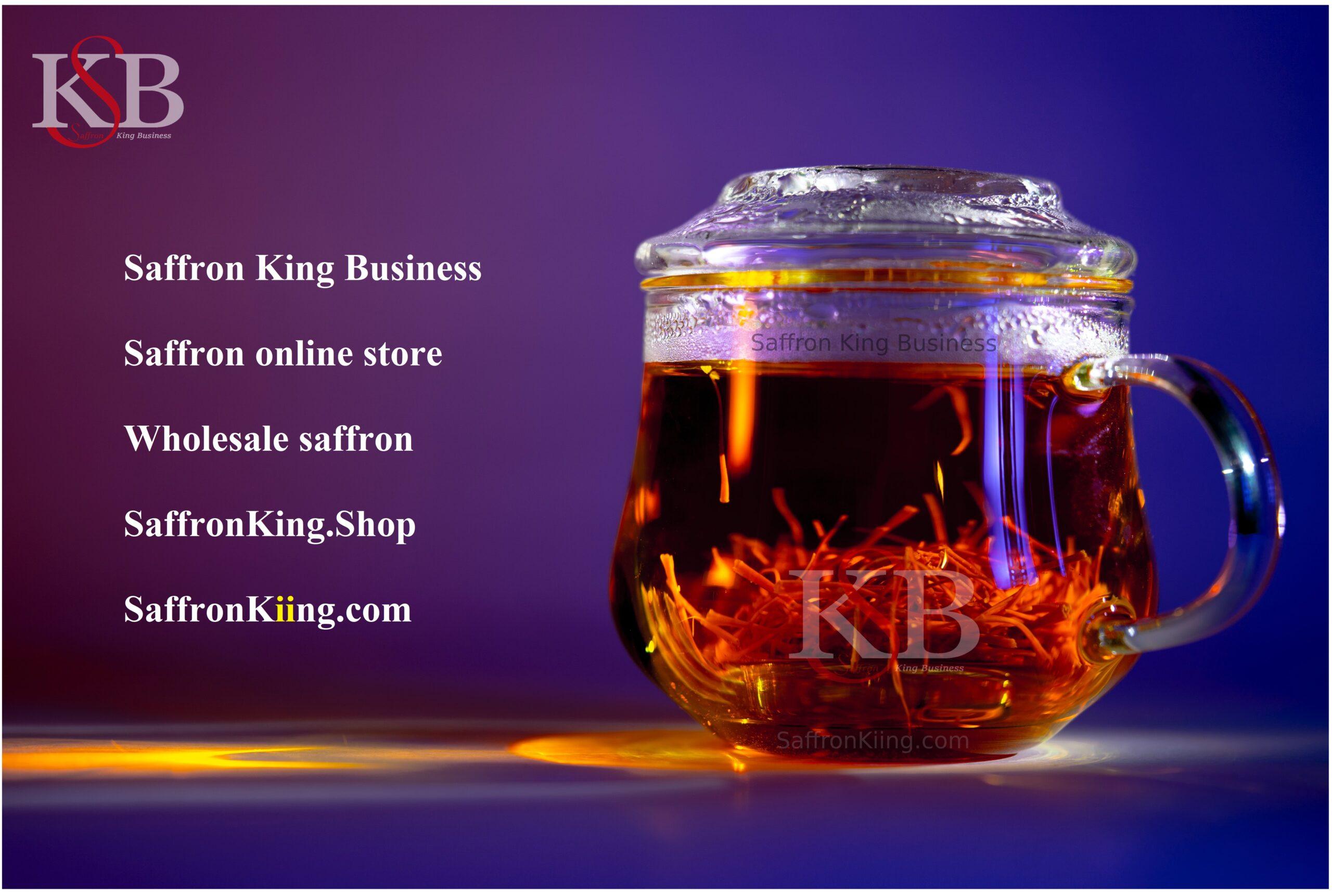 Online verkoop van saffraan