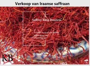 Verkoop van Iraanse saffraan