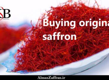 Buying original saffron