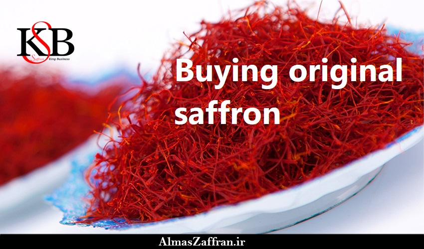 Buying original saffron