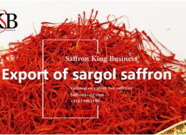 Export of sargol saffron