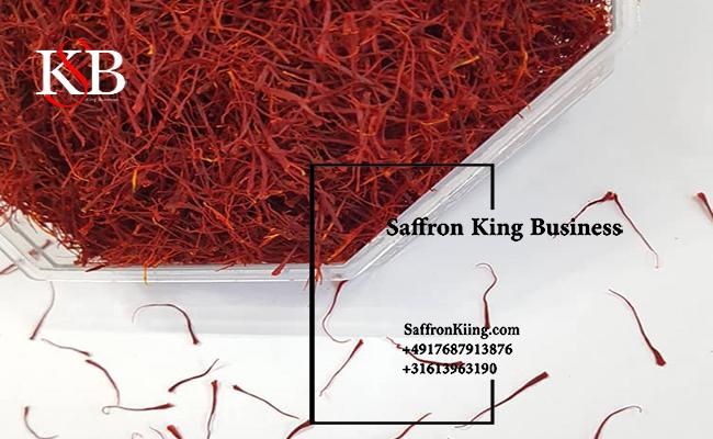 De verkoopprijs van pure saffraan