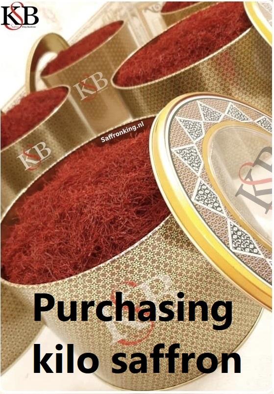 Purchasing kilo saffron