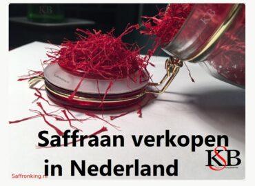 Saffraan verkopen in Nederland