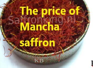 The price of Mancha saffron