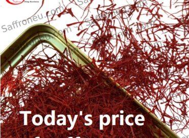 Today's price of saffron