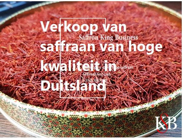 Verkoop van saffraan van hoge kwaliteit in Duitsland