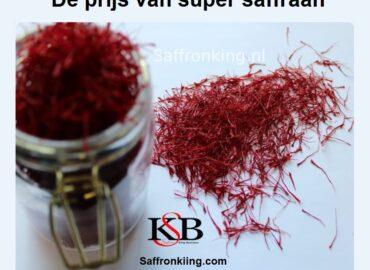 De prijs van super saffraan