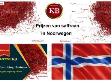 Prijzen van saffraan in Noorwegen