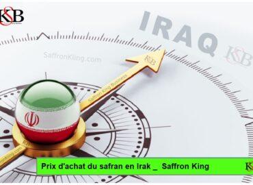 Prix d'achat du safran en Irak _ Saffron King Company