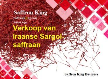 Verkoop van Iraanse Sargol-saffraan