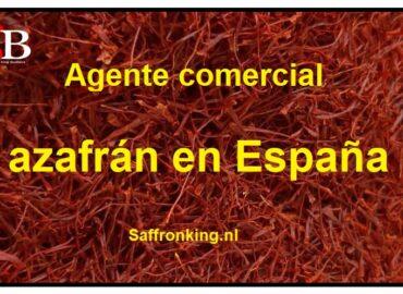 Agente comercial de azafrán en España