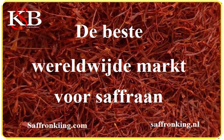 De beste wereldwijde markt voor saffraan