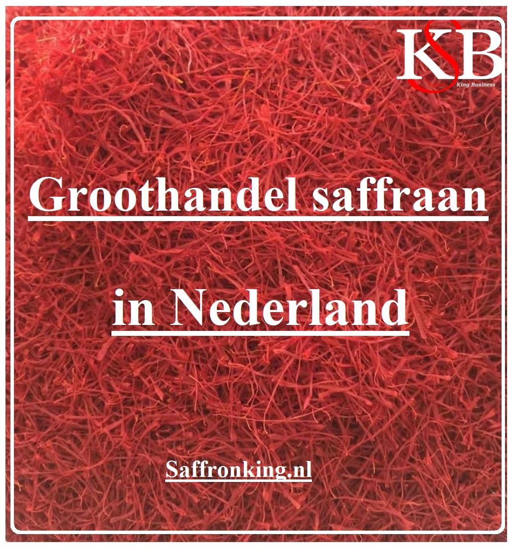 Groothandel saffraan in Nederland