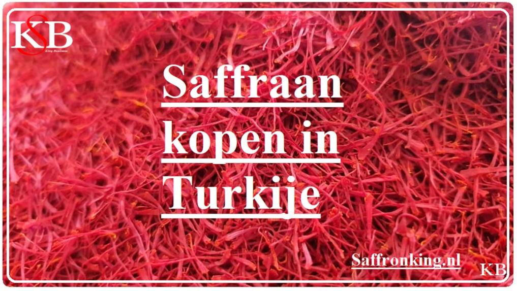 Saffraan kopen in Turkije