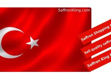 Verkoop van Sargol-saffraan in Turkije