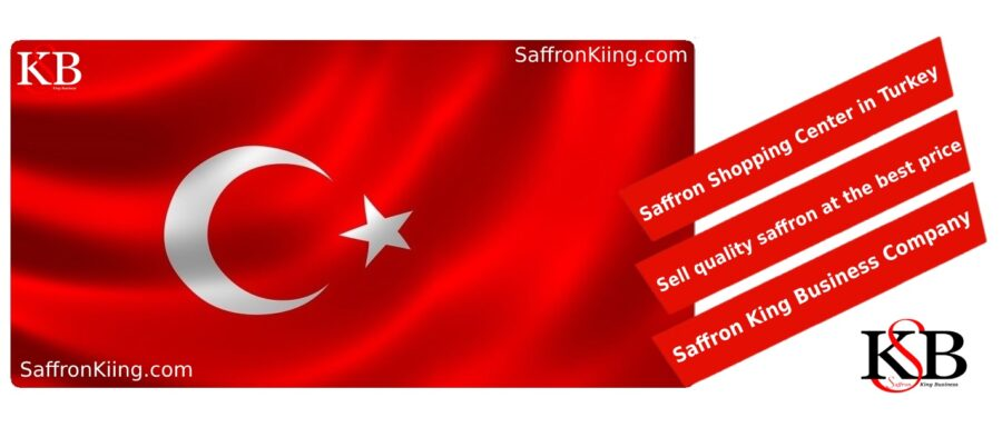 Wat is de prijs van elke kilo saffraan in Turkije?