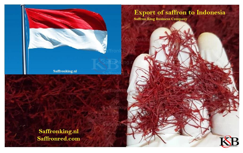 Price of saffron per kilo in Indonesia