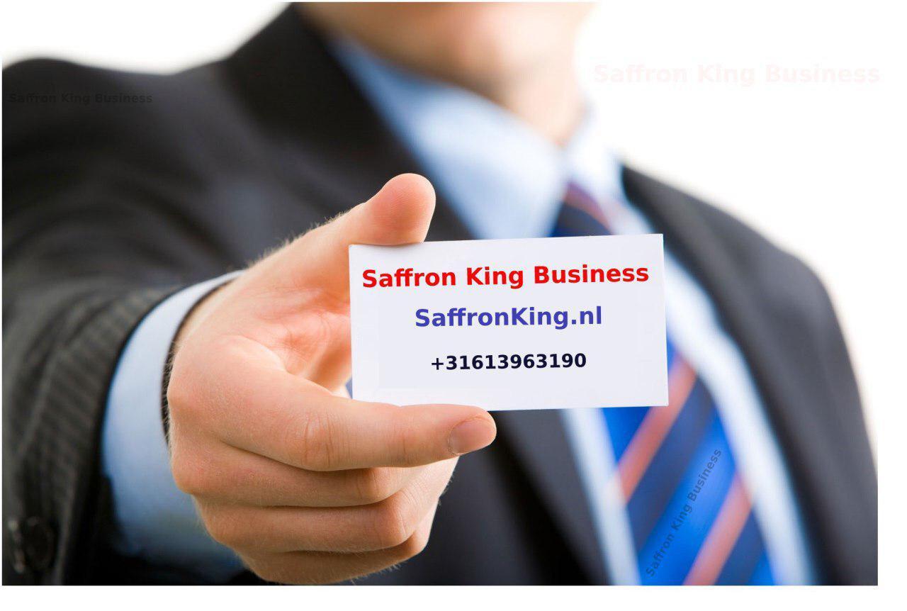 Exporting saffron sales