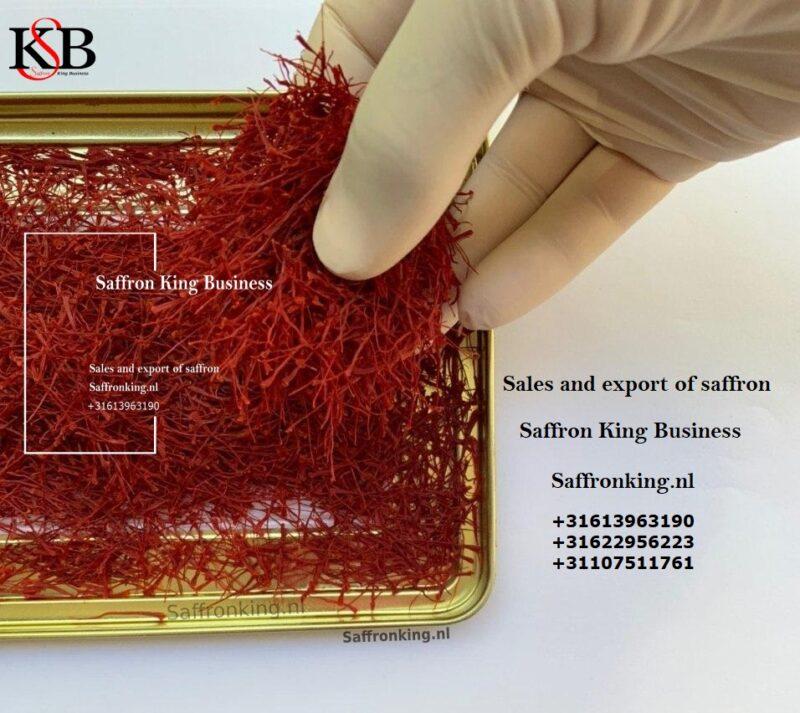 Verkoop van Negin-saffraan in de winkel van Saffron King 981€