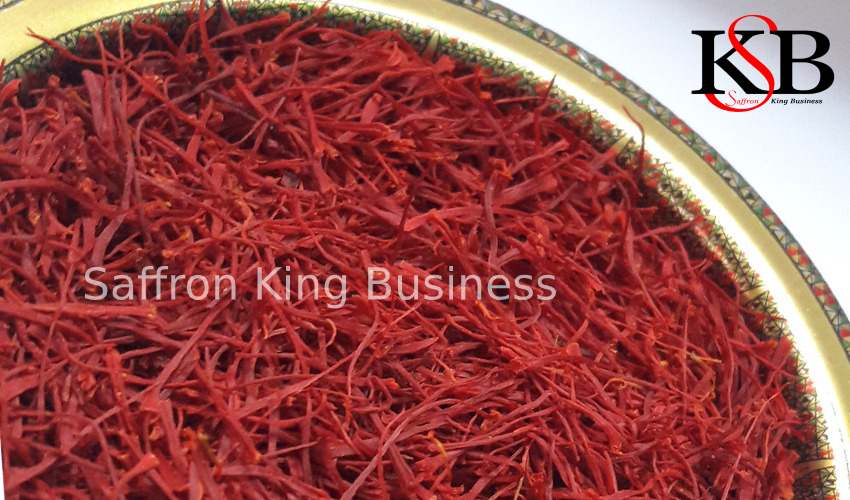 Export of saffron to the Rotterdam